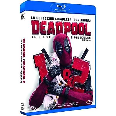 Deadpool 1+2 Blu-Ray (Versión Super $@%!#  Grande) [Blu-ray]