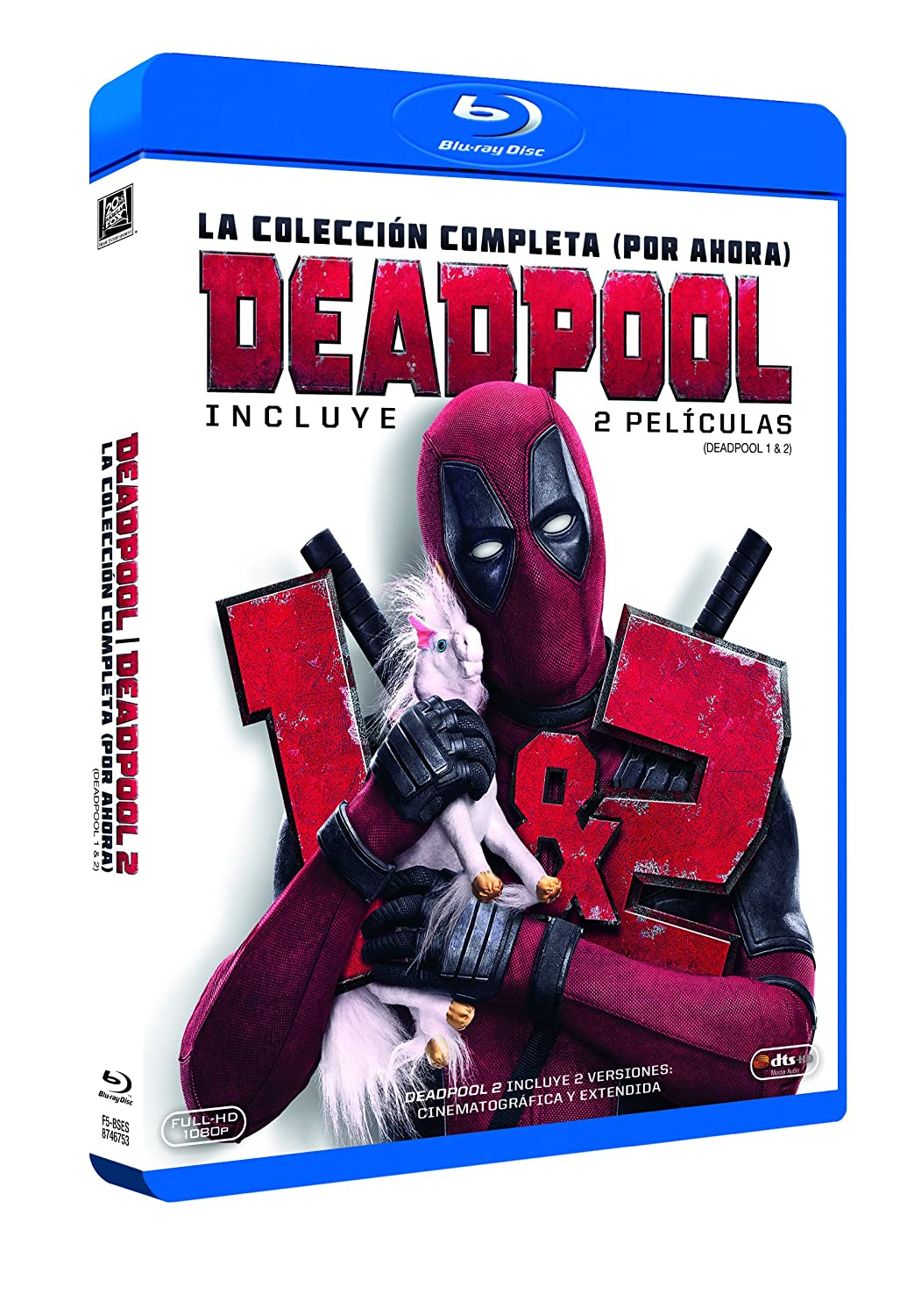 Deadpool 1+2 Blu-Ray (Versión Super $@%!# Grande) [Blu-ray]