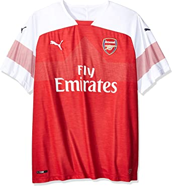 PUMA Arsenal FC Home Shirt Replica SS with EPL Sponsor Logo ...