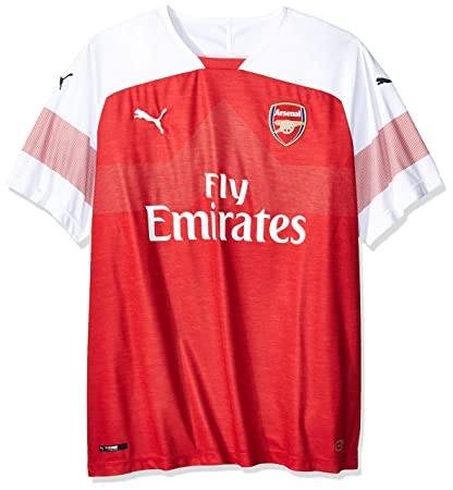 8861d01cf PUMA Arsenal FC 2018 19 Short Sleeve Home Jersey - Adult - Chilli Pepper  Heather