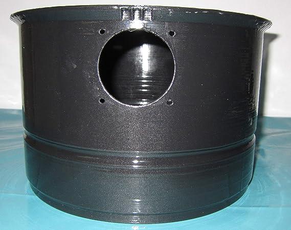 Depósito de agua para aspiradora Hyla con filtro de agua N/NST. Negro: Amazon.es: Hogar