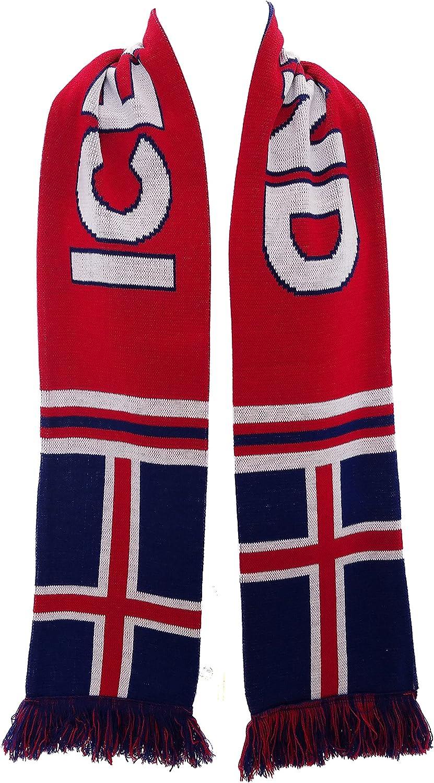QTKJ Iceland 2018 World Cup Fans Scarf National Team Scarf Flag Banner Football Cheerleaders Scarves