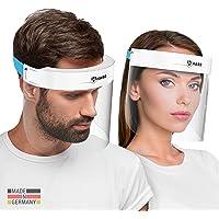 HARD 1x Pro Visera de protección facial, Certificado médico, Protector de plástico Antivaho, Pantalla protectora para…