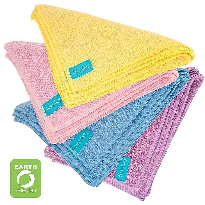 20 x toallitas desmaquillantes de microfibra lavables | Pack ...