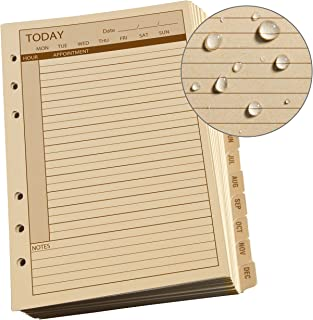 "product image for Rite in the Rain Weatherproof Daily Calendar Set, 5"" x 7"", Tan Sheets, 365 Days (No. 9260D)"