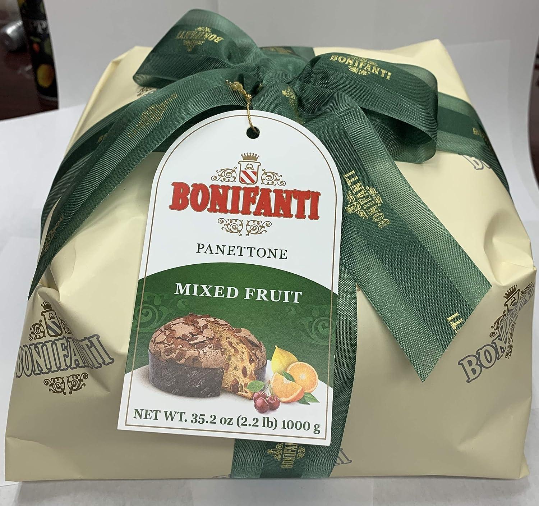 Bonifanti - Panettone artesanal misto frutta 1kg (frutas mixtas): Amazon.es: Alimentación y bebidas