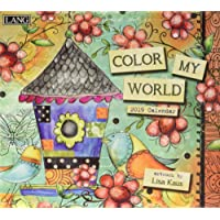 Color My World 2019 Calendar: Includes Free Wallpaper Download