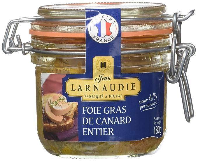 Jean Larnaudie Foie Gras de Canard Entier France Bocal le Parfait 180 g 4b842ae326f
