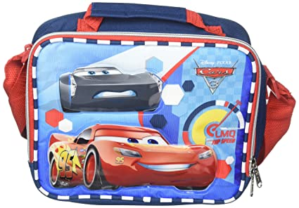 78cb3205db3 Image Unavailable. Image not available for. Color  Disney Pixar Cars McQueen  Insulated Lunch Box