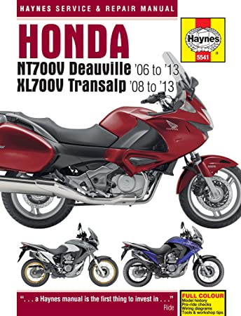 honda xl 700 xl700v xl700va repair manual haynes service manual rh amazon co uk 1989 Honda Transalp Honda VFR800