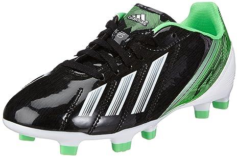 finest selection bfd88 1f2f7 Adidas F10 TRX FG, Scarpe da calcio bambini nero nero, Nero (Schwarz (