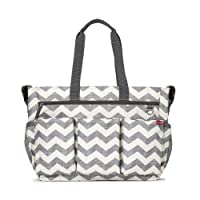 Skip Hop Duo Double Signature Changing Bag - Chevron
