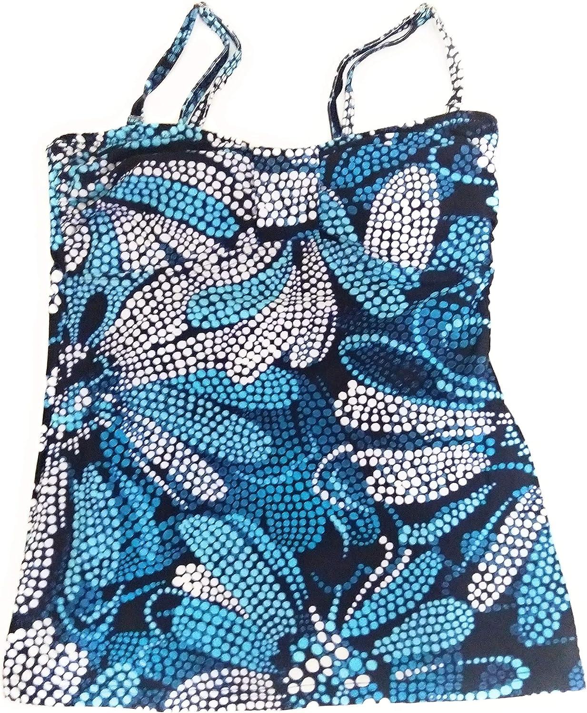 Croft /& Barrow Womens Swimwear Tankini Top