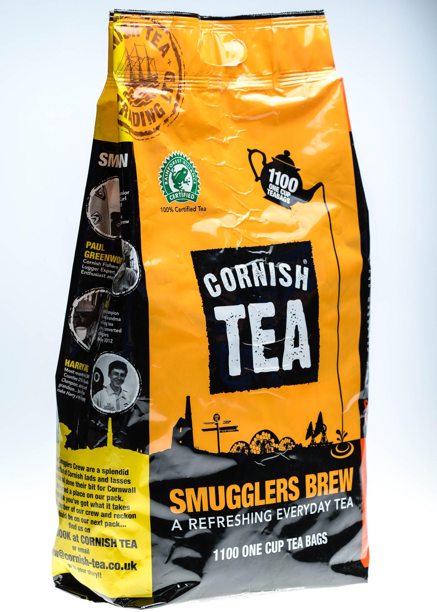 Cornish Tea - Smugglers Brew Tea Bags (1100)