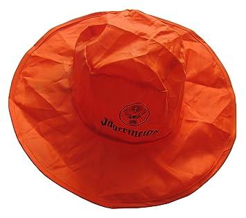 Jagermeister Regenhut Sonnenhut Hut Mit Tasche 2 Amazon De