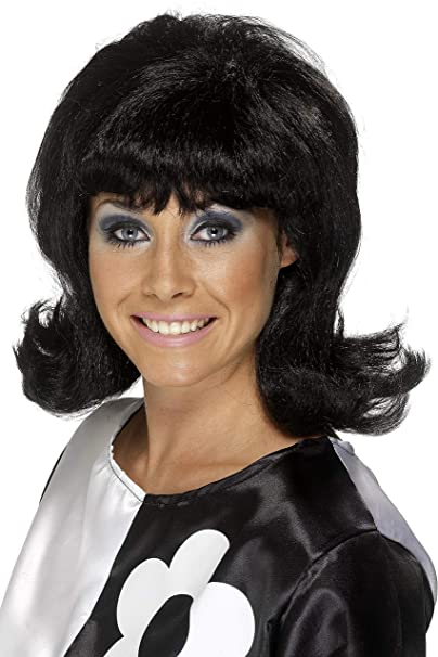 Amazoncom Smiffys 60s Flick Up Wig Clothing