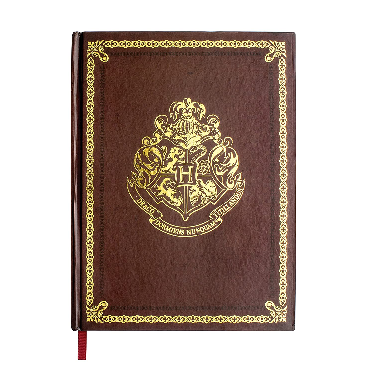 Official Harry Potter Hogwarts Crest Notebook Journal Stationery Paladone Products Ltd. PP3213HPTX