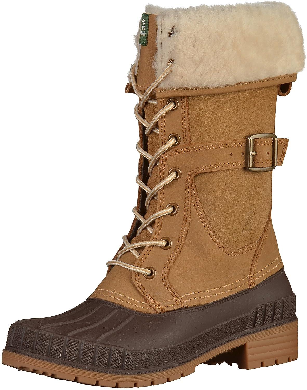 Kamik Women's SiennaF Waterproof Winter Boot B01N7N3928 9 B(M) US|Apple Cinnamon