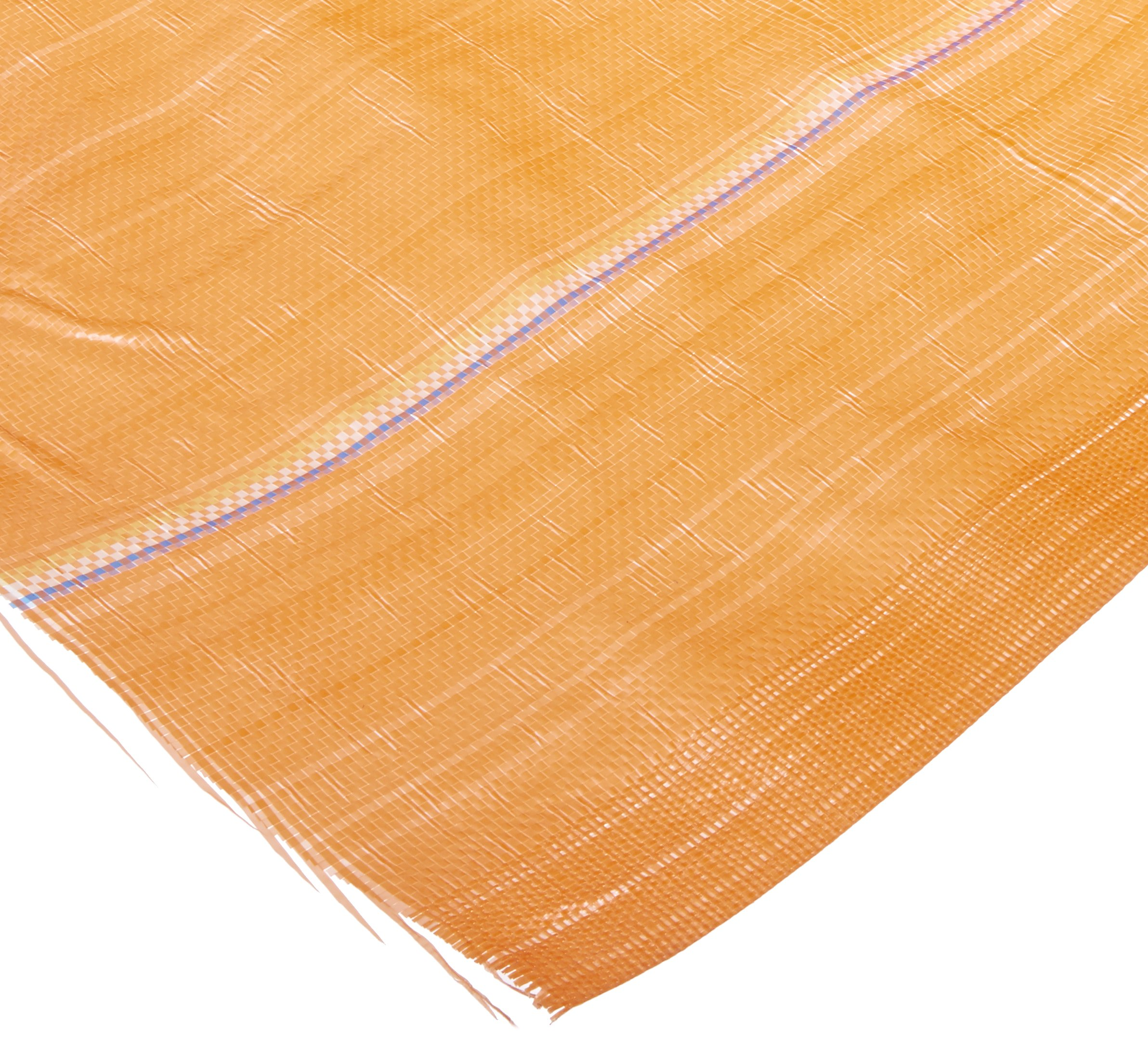Mutual MISF1845 Polyethylene Silt Fence Fabric, 500' Length x 48'' Width, Orange