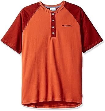 fd834de4fe9 Columbia Men's Ward River Short Sleeve Henley at Amazon Men's Clothing  store: