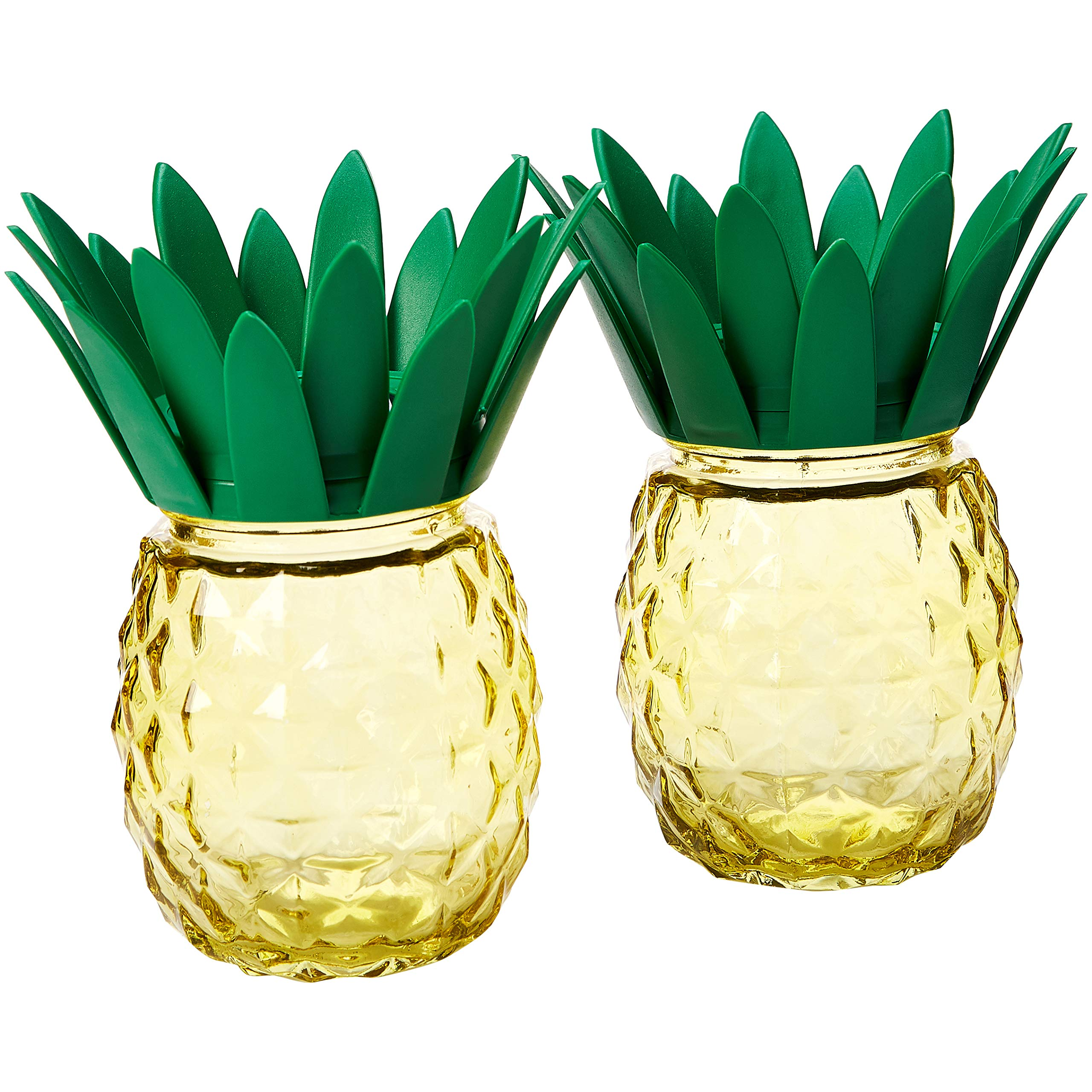 Solar Garden Light,Waterproof/Weatherproof Pineapple Solar Table Light for Garden, Patio, Party, Yard, Outdoor/Indoor Decorations (Set of 2) Zkee