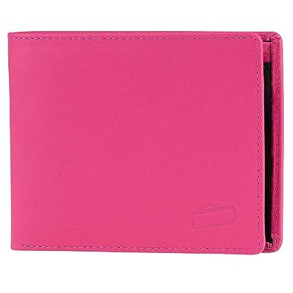 soonapie - Cartera de Piel con protección RFID, Color Rosa y ...