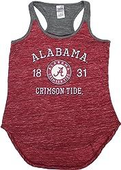bc75a5ce1c7 Creative Apparel Women  s Alabama Crimson Tide Tank Top Shirt