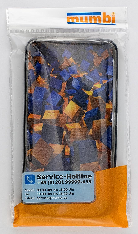 mumbi Schutzh/ülle f/ür Lenovo Moto G4 Play H/ülle transparent schwarz