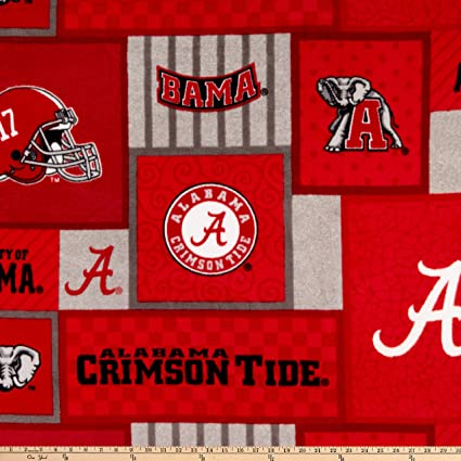 Amazon com: Sykel Enterprises NCAA-Alabama 1177 Patch Fleece