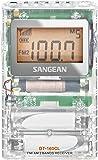Sangean FM 立体声 / AM 口袋收音机 透明