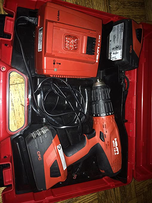 Amazon.com: HILTI SFH 18-A CPC Hammer Drill/Driver Kit: Home ...
