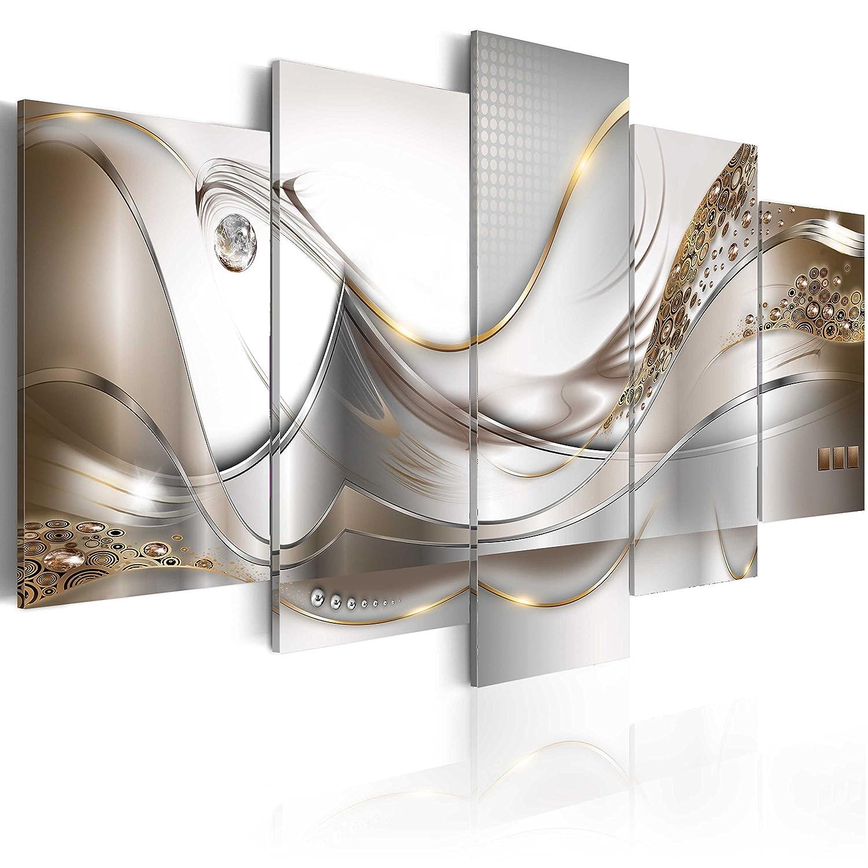 murando - Acrylglasbild Abstrakt 100x50 cm - 5 Teilig - Bilder Wandbild - modern - Decoration a-A-0004-k-o