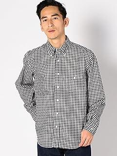 Gingham Buttondown Shirt 111-10-0152: Black