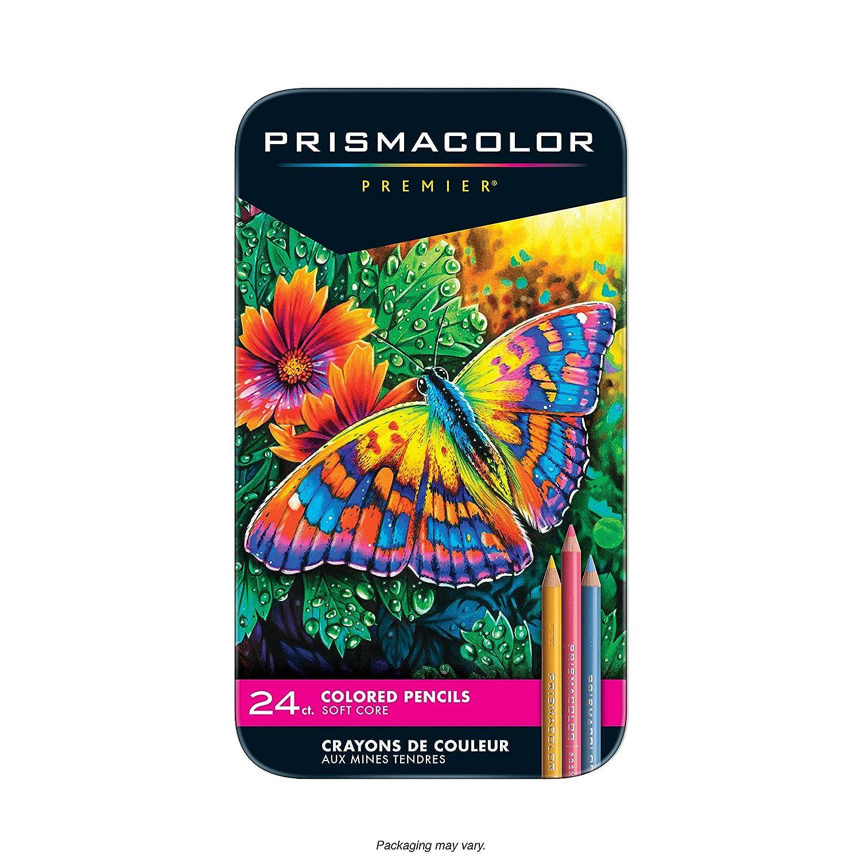 Prismacolor Premier - Paquete de 24 lápices de colores, sortidos [importado]