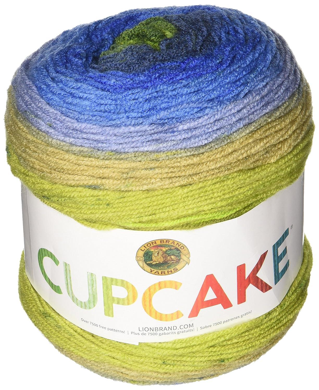 Amazon Com Lion Brand Yarn 935 214 Cupcake Yarn Moody Blue