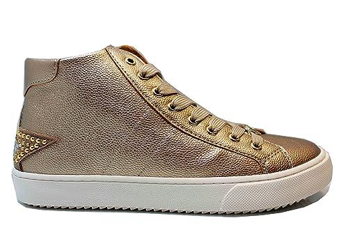 liu jo Girl UM23259 Oro Sneakers Polacchine Scarpe Bambina Donna Calzature   Amazon.it  Scarpe e borse 1545d302d59