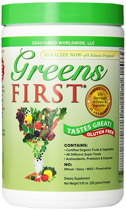 Greens First Nutrient Rich-Antioxidant SuperFood, 9.95 Ounces