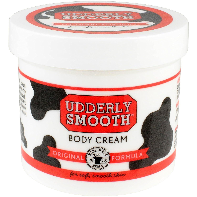 Udderly Smooth BODY Cream Skin Moisturizer, 12-Ounce Jar (Pack of 6) 60251X12