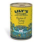 Lily's Kitchen Chicken & Turkey Casserole Complete Wet Food for Dogs 400g (Pack of 6)