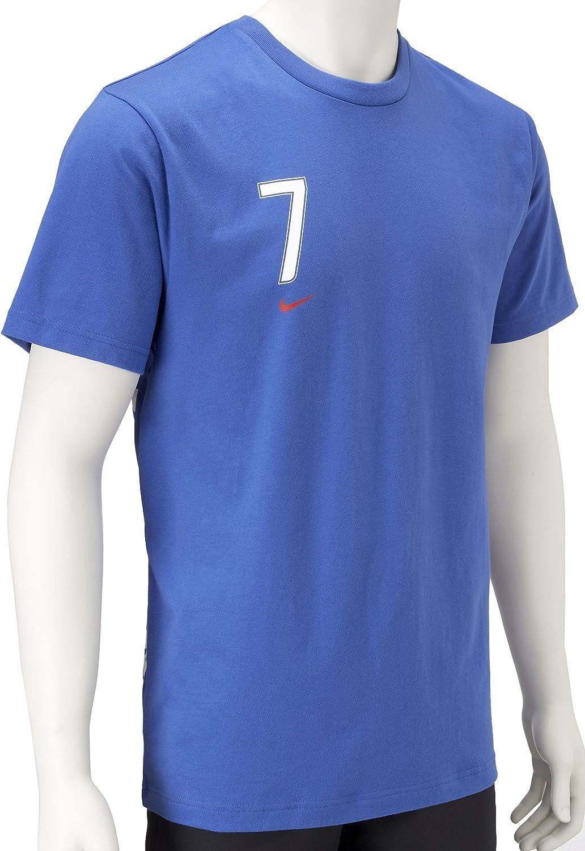 Nike Mens Francia Malouda Camiseta Azul Azul Talla:39/41: Amazon.es: Ropa y accesorios