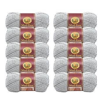152 Lion Brand Wool-Ease Yarn 620-152 Oxford Grey Oxford Grey