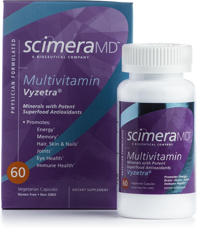 Scimera BioScience VYZETRA ULTRA Multivitamin Minerals, Antioxidants Superfood Nutrients 60 Capsules