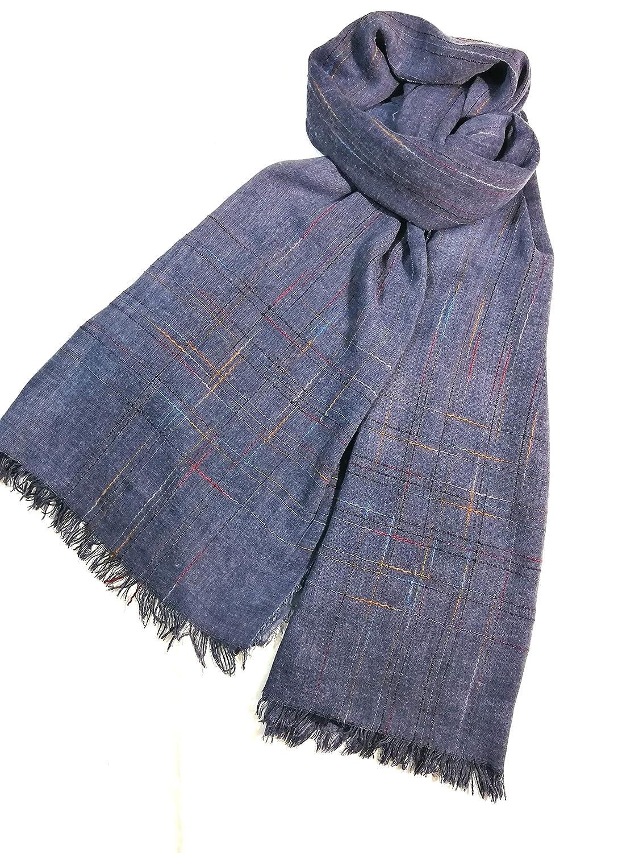 Shanlin Unisex Cotton-Linen Scarves for Men and Women