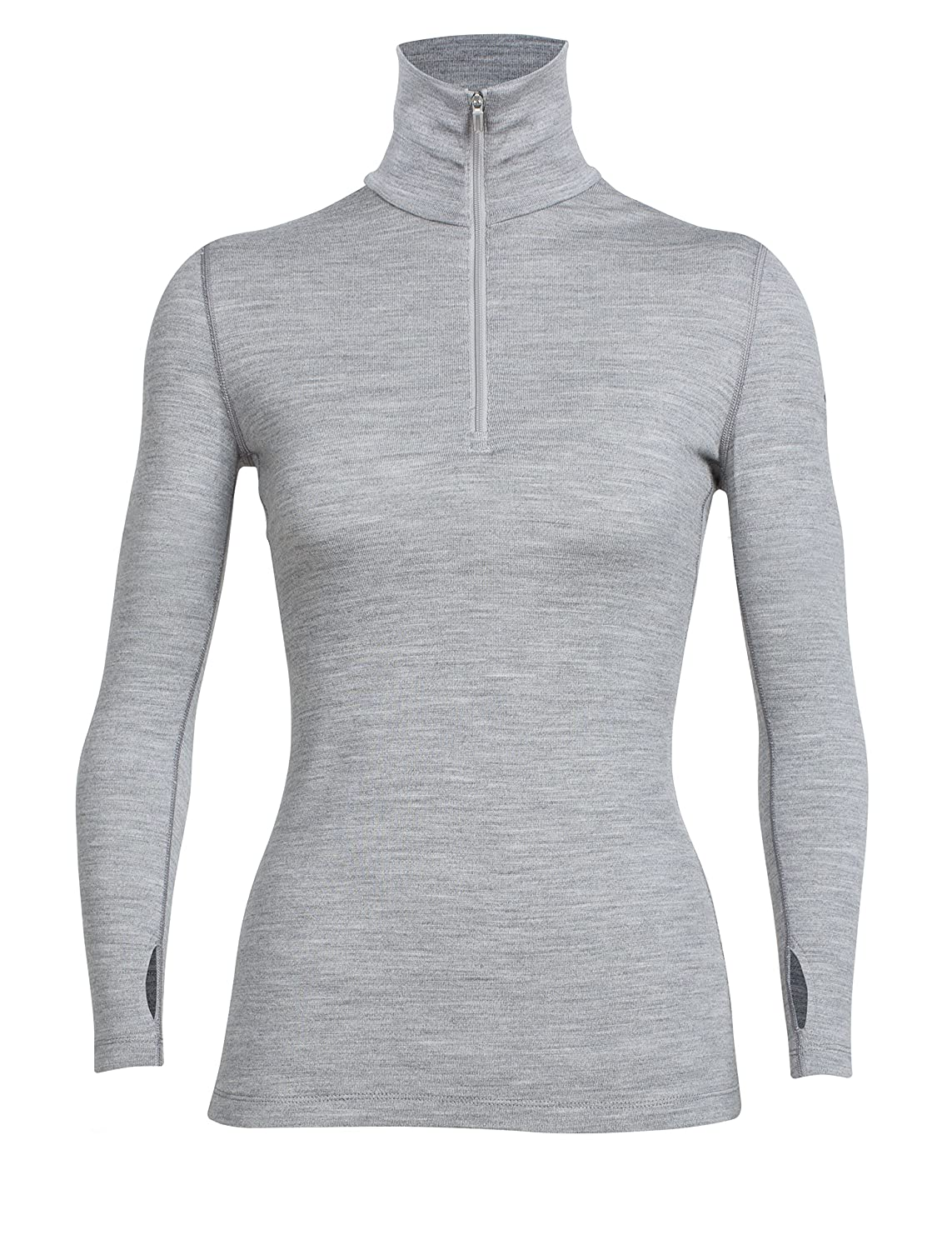 Icebreaker Damen Tech Top Long Sleeve Half Zip Shirt