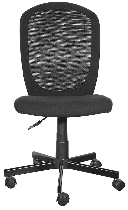 Furniture 247 - Silla de oficina, negro