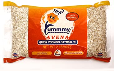 Yummmy Quick Cooking Oatmeal, 2 Lb (32 Oz), Kosher Certified, Gluten