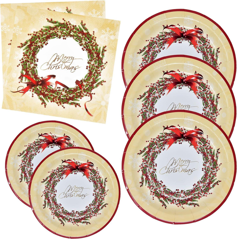 Holiday Napkins Christmas Tableware Festive Party Napkins 20 Silver Foiled Merry Christmas White Paper Napkin Paper Christmas Napkin