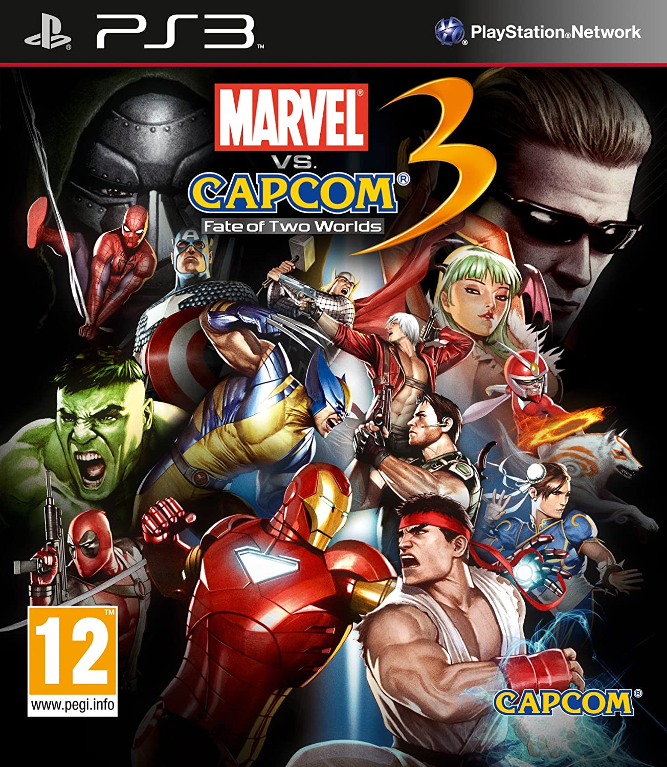 Marvel vs Capcom 3 (PS3) [Importación inglesa]