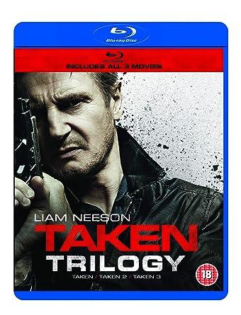 Amazon com: Taken/Taken 2/Taken 3 [Blu-ray]: Liam Neeson