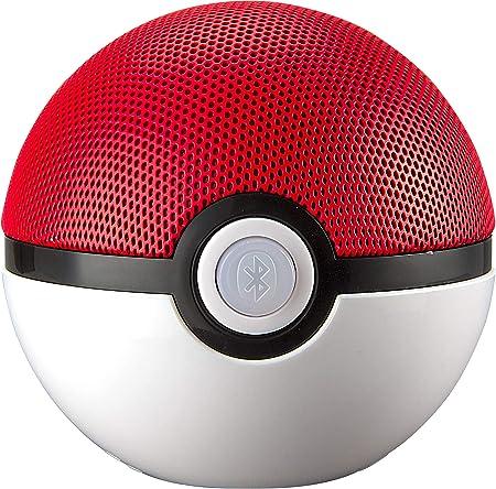 KIDdesigns Pokemon PI-B67PK.FMV6 Pokeball Bluetooth Speaker Red White: Amazon.com.mx: Electrónicos